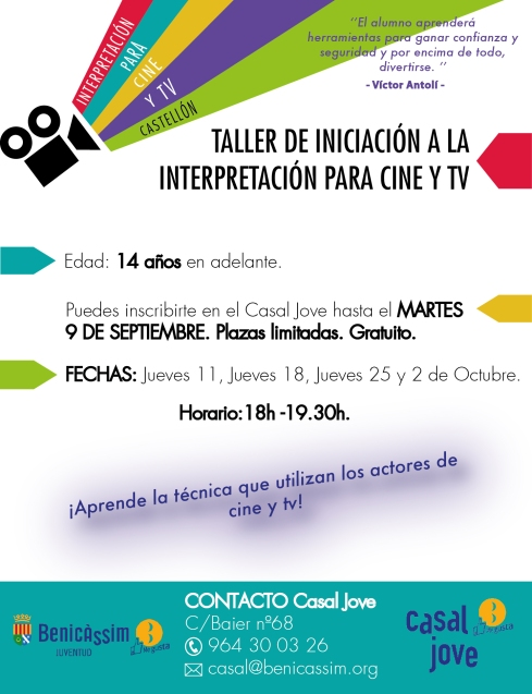 taller iniciació cinema i tv